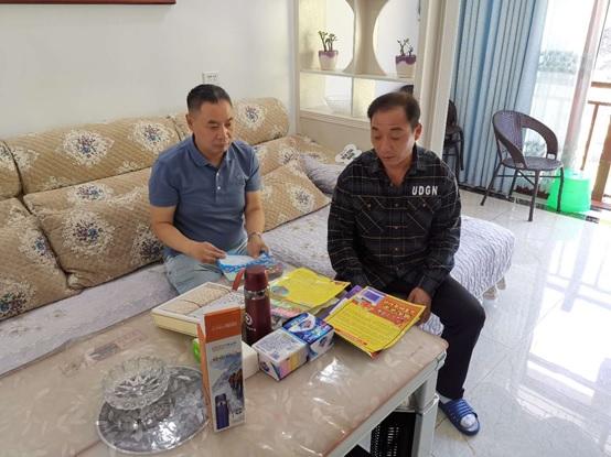 院副总经理、工会主席朱万林深入立石村调研指导脱贫攻坚工作
