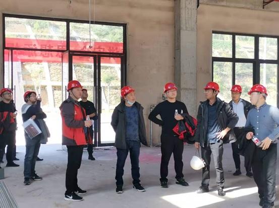 副总经理、工会主席朱万林赴项目一线进行安全检查并指导工作